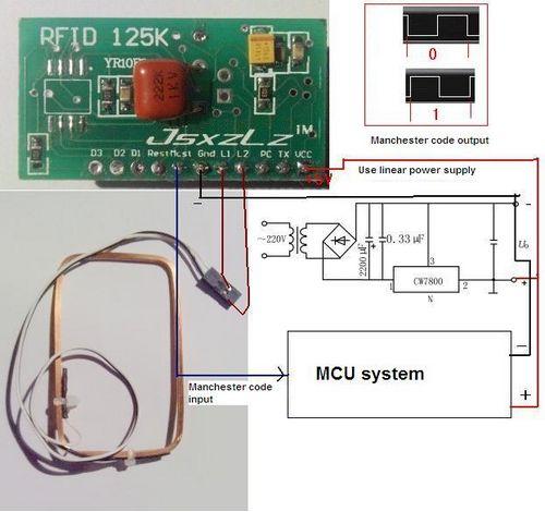 125khz Rfid Module Kits