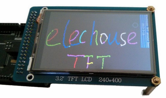 how to open tft screen interface