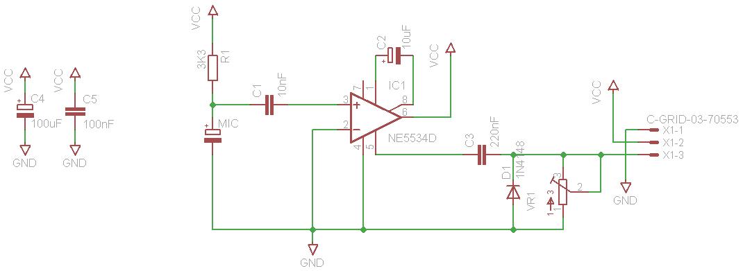 arduino sound sensor 9 55 elechouse arduino play house rh elechouse com sound sensor circuit pdf sound sensor circuit using 555 timer