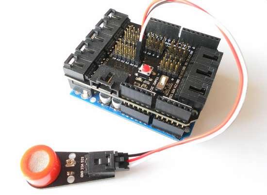 MQ3 Gas Sensor With Arduino DIY SPACE