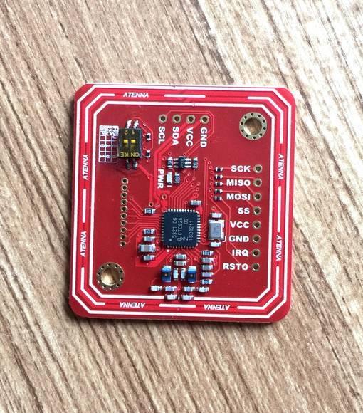 PN532 NFC RFID module V4 [WIRELESS-NFC-PN532_V4] - $13 90