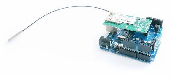 Wifi or nrf l wireless shield for arduino ebay