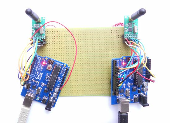 arduino nano - 433MHz sending not receiving - Arduino