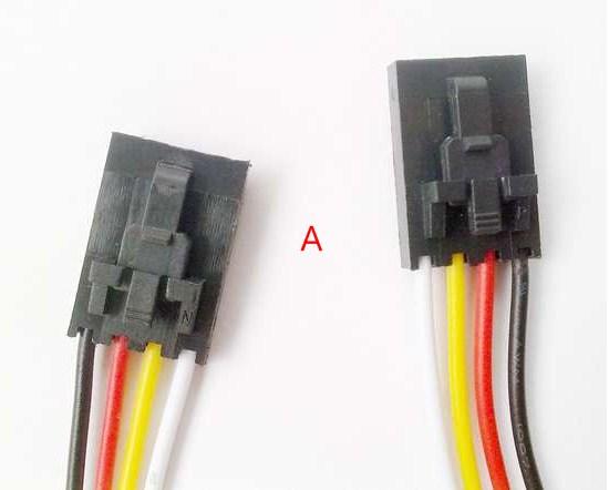 Arduino Compatible A 4 Pin Anti-Reverse I2C//COM Special Cable -30cm ×10 Pcs