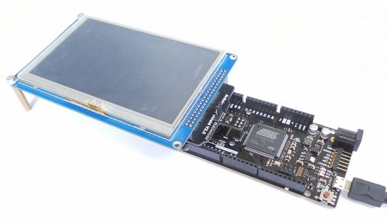 """"""" tft lcd and shield for arduino due with sd touch"""