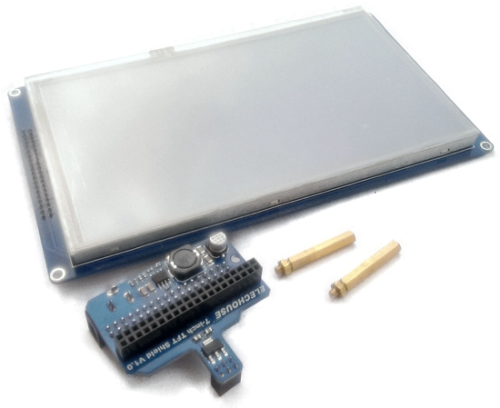7 TFT Screen with Shield for Taiuino Arduino Due